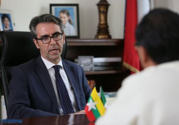 MIZZIMA INTERVISTA L'AMBASCIATORE ITALIANO IN MYANMAR