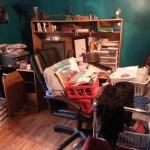 Nasty messy office