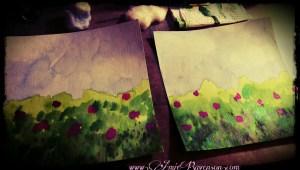 Art project in progress 1