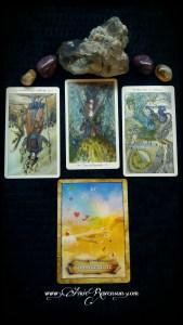 4 card tarot reading by Amie Ravenson