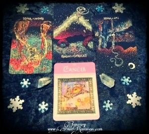 January 2018 tarot reading