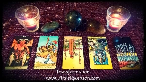 5 Card Transformation Reading