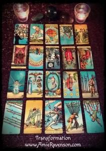 Transformation Reading 20 cards
