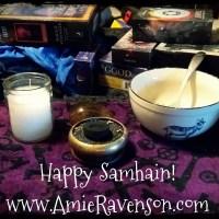 Samhain tarot blessing 2018
