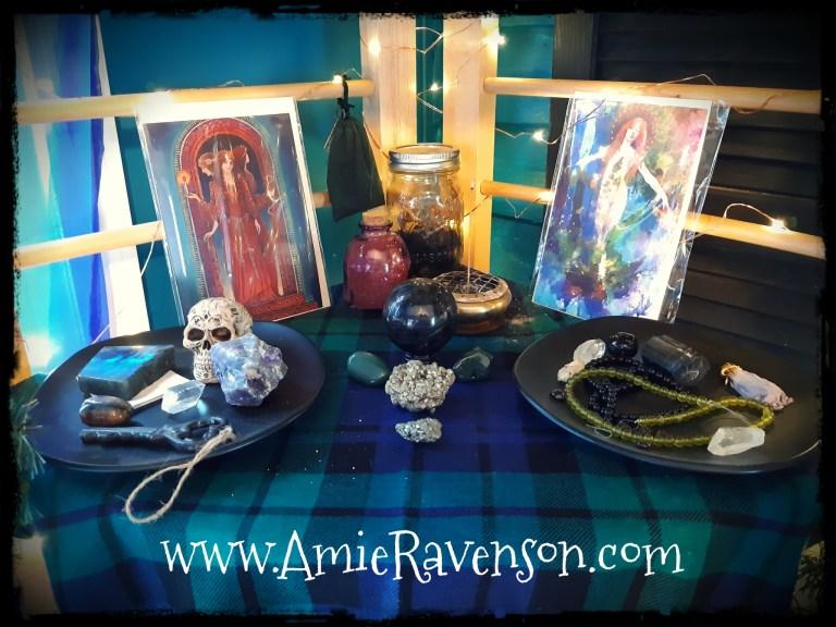 Yule Altar 2