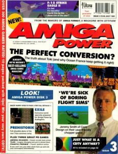 Amiga power magazine 3 front cover
