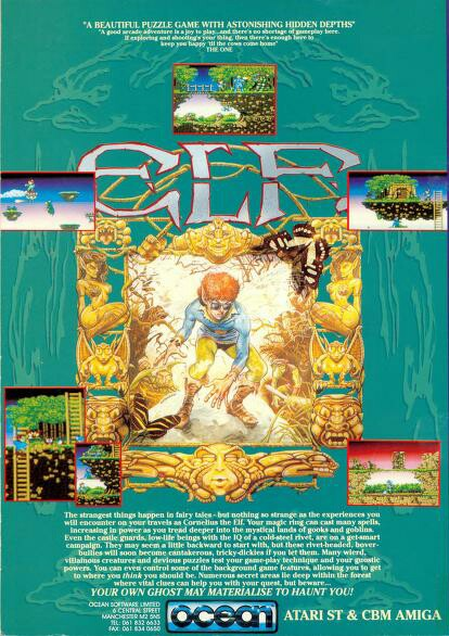 Ad for the Elf computer game
