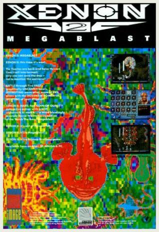 Xenon II megablast Amiga game ad