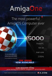 poster AmigaOne X5000