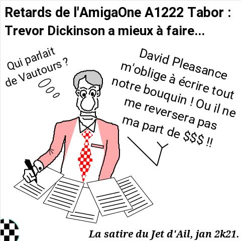 Retards de l'AmigaOne A1222