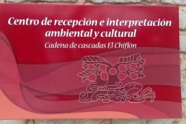 Centro interpretativo Cadena de cascadas el Chiflón
