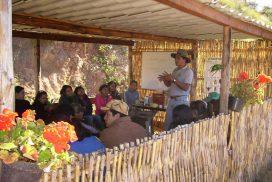 Talleres de agro biodiversidad en la Loma Orgánica