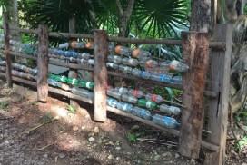 Manejo de residuos en Kiichpam Kaax