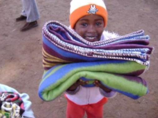 Donate any amount to the 2015 Amigos blanket fund!