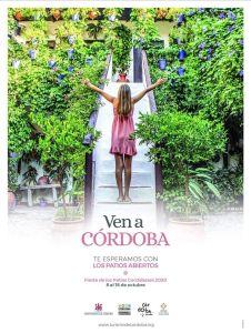 Cartel Festival de los patios Cordobeses 2020