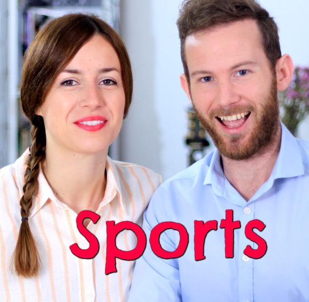 Vocabulario: SPORTS – Clase de inglés – los deportes en inglés
