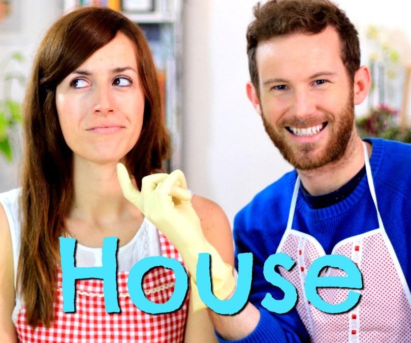 Vocabulario: HOUSE – Clase de inglés – la casa