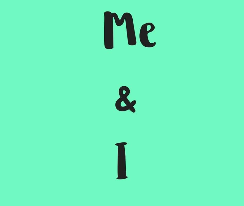 Diferencia entre 'Me' & 'I' en inglés