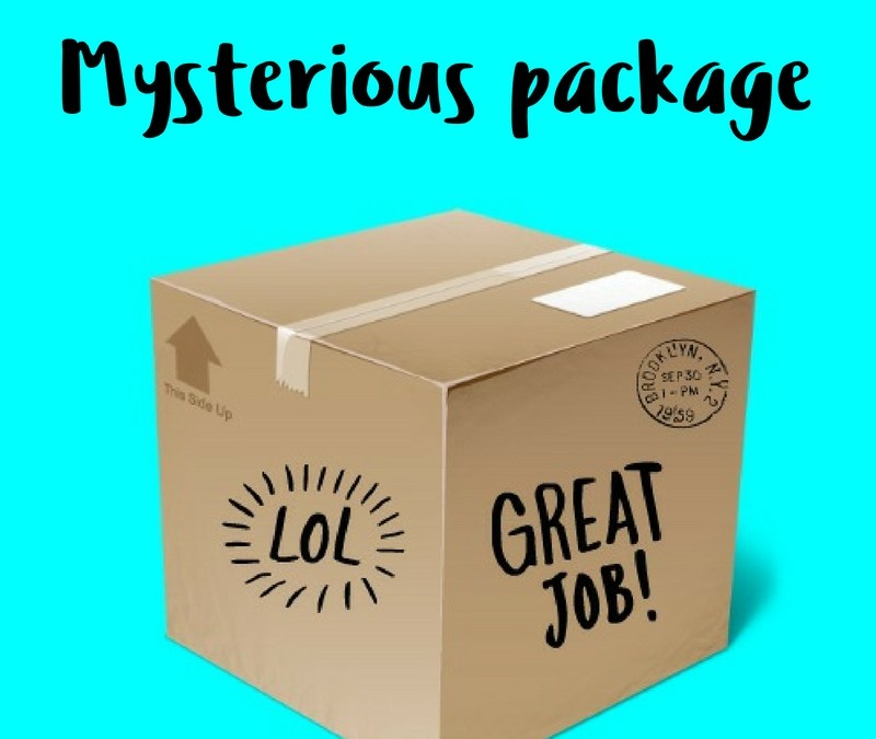 Mysterious package! What's inside???