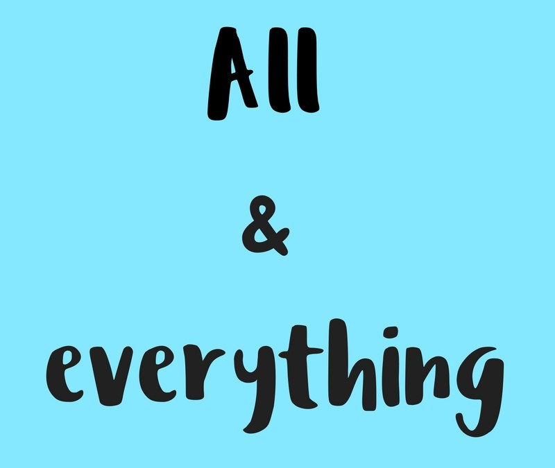 Diferencia entre 'All' & 'Everything' en inglés