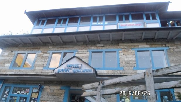 Lodge condition after earthquake