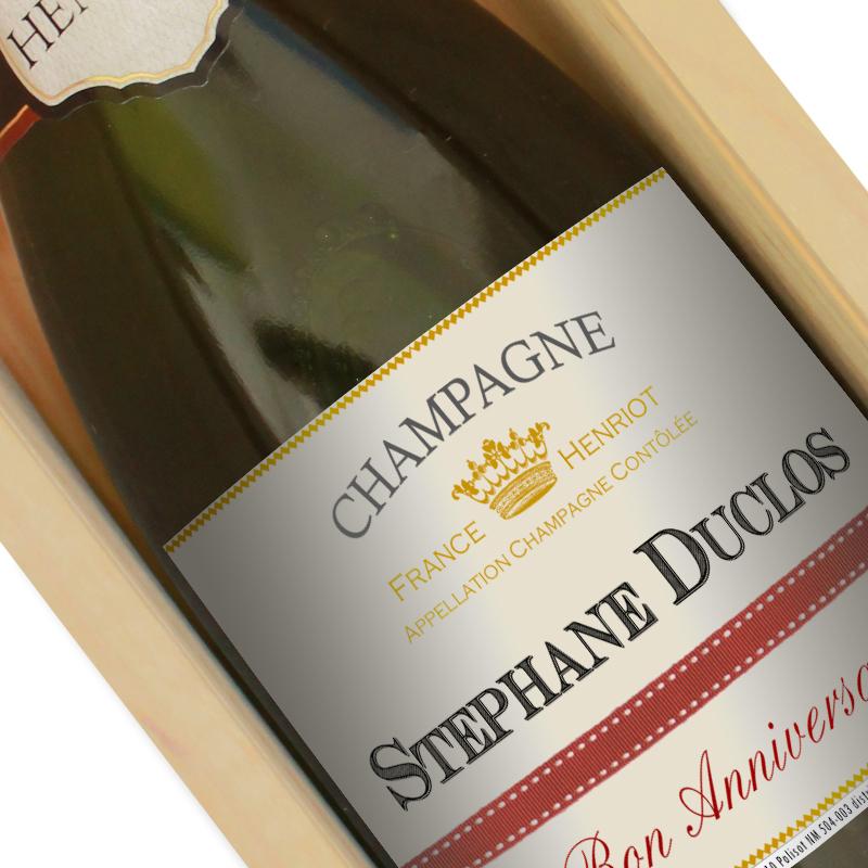 Champagne Personnalis Avec Tiquette Personnalise Amikado