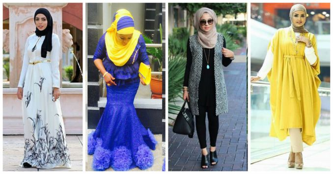 Beautiful Islamic Dresses With Hijab Cover