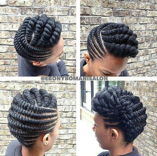 Image Result For Braid Styles For Natural Haira