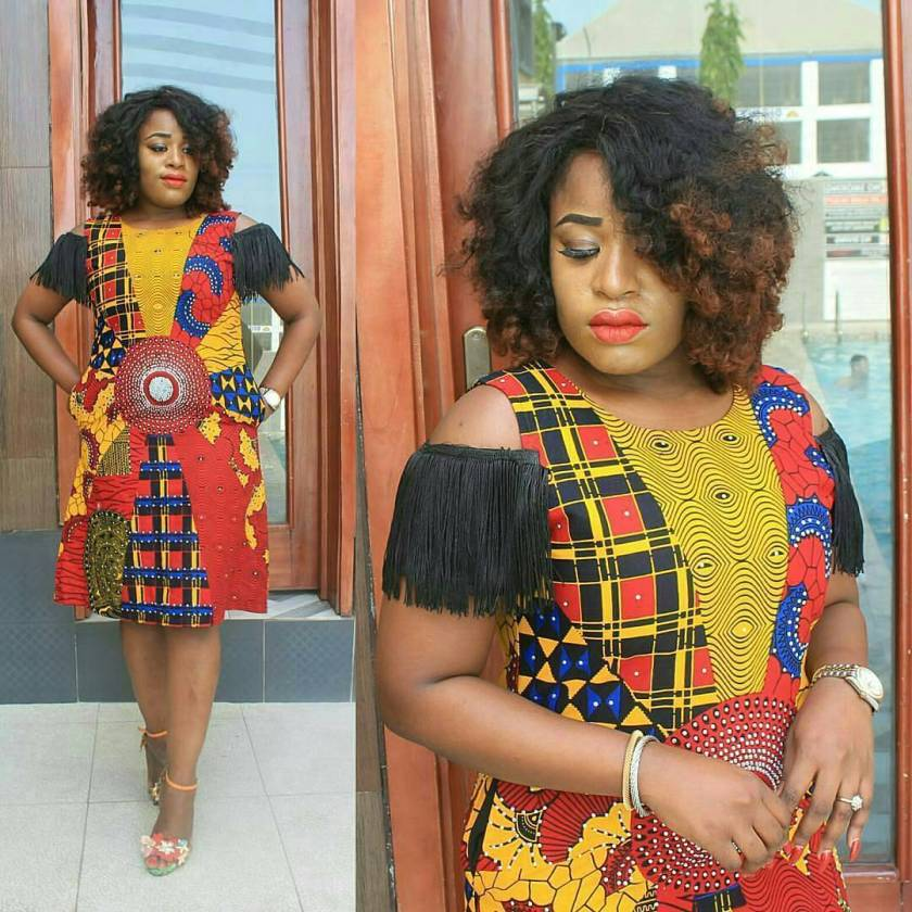 Check Out These Beautiful And Fascinating Ankara Styles