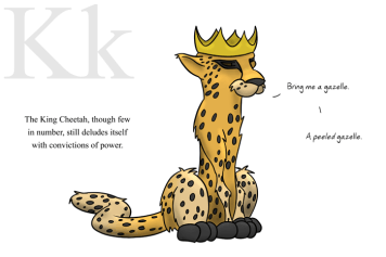K is for King Cheetah