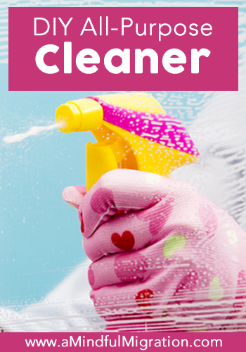 With just two lost-cost ingredients, this DIY all-purpose cleaner is a snap to make and just as effective as commercial cleaners.