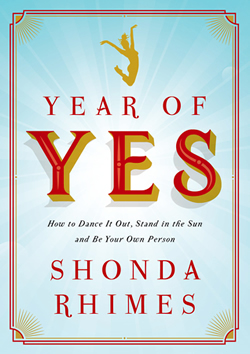 The Year of Yes by Shonda Rhimes