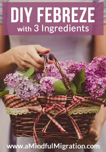 DIY Febreze: Low-Cost, Easy and Effective: This recipe has only 3 ingredients and takes minutes to make. Plus, it's just as effective as commercial brands but a mere fraction of the price.