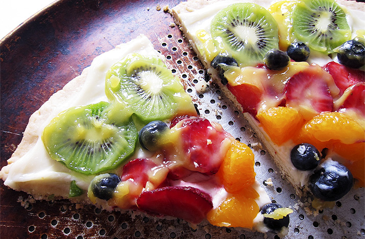 Championship Ribbon Fruit Pizza