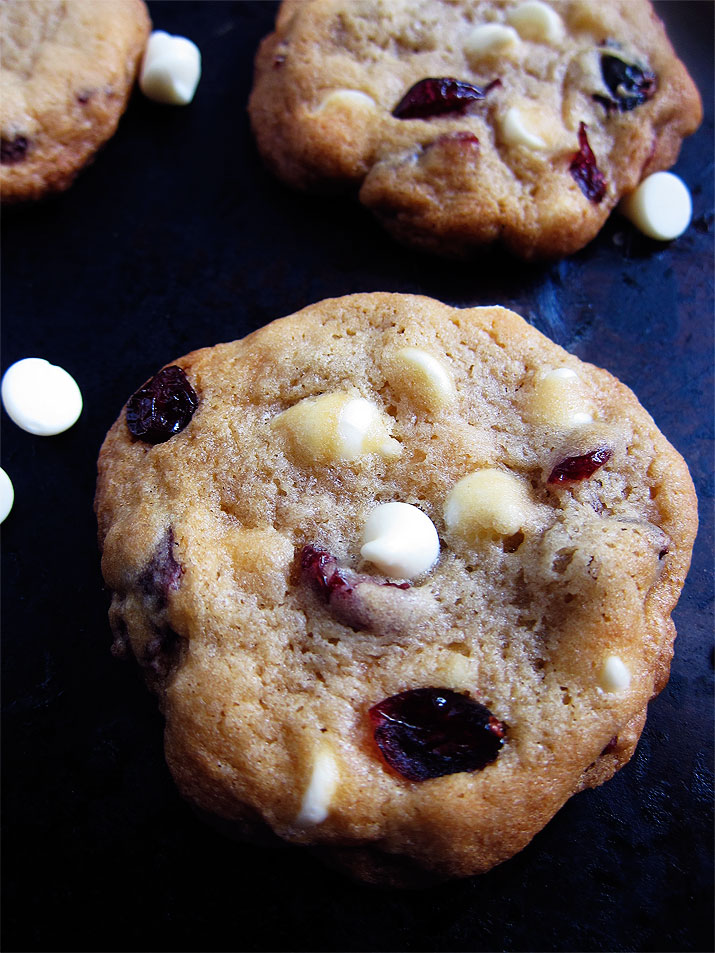 Cranberry White Chocolate Cookie