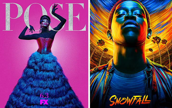 Posters for Pose and Snowfall
