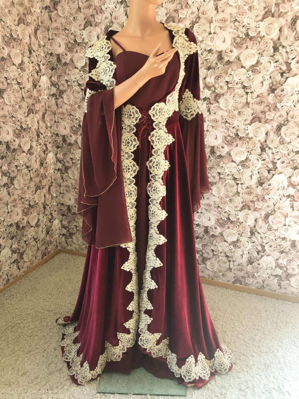 Hennakleid Bindali Abendkleid