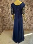 Abendkleid Royalblau Übergröße