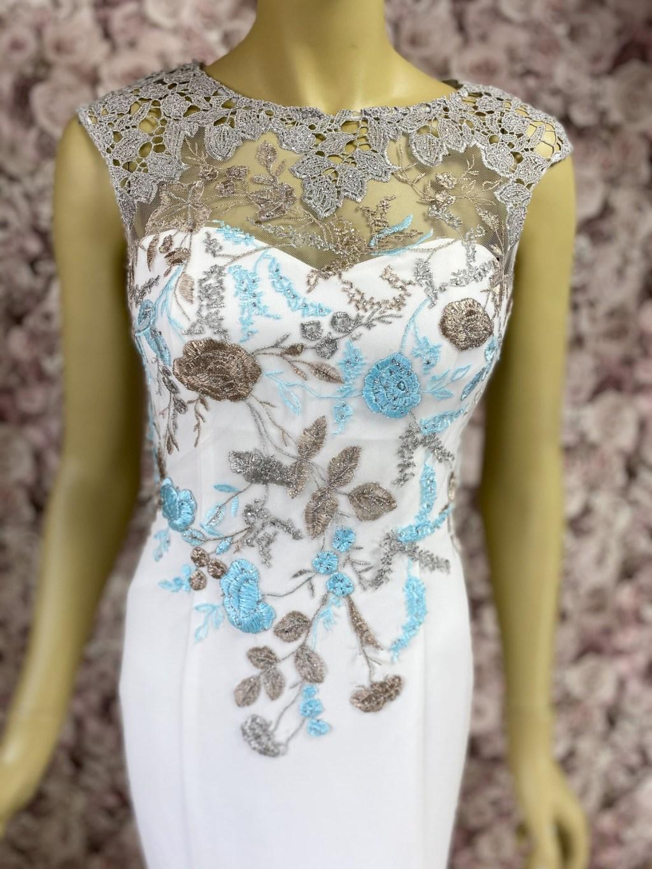 Abendkleid-Standesamtkleid-Meerjungfrauen-Kleid