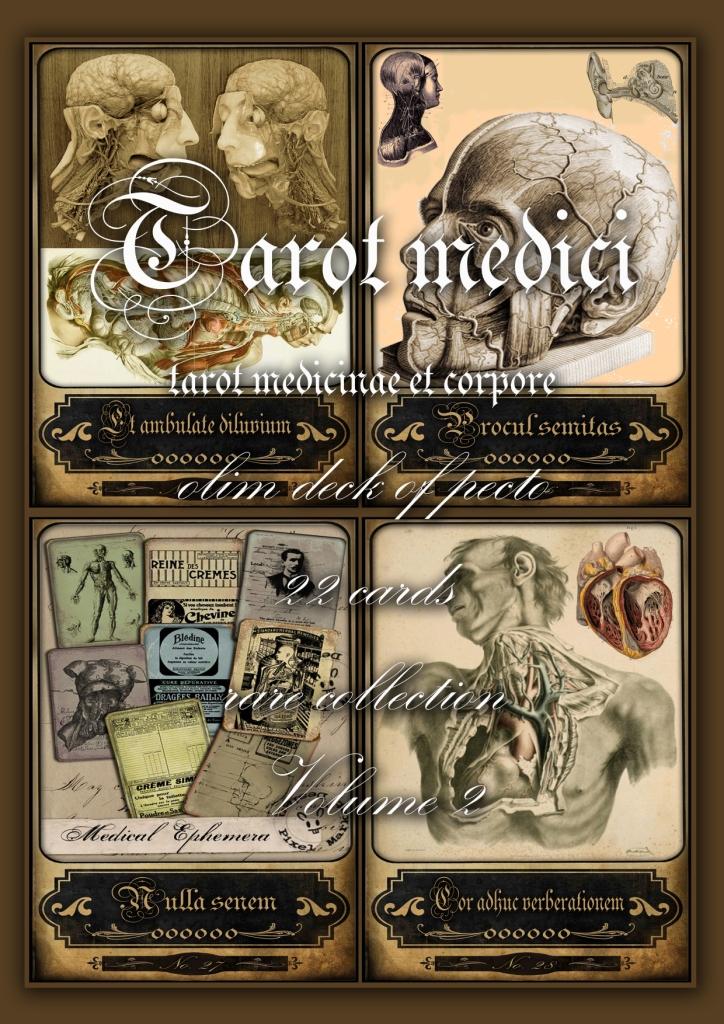 Old anatomy, medicine and surgery vintage