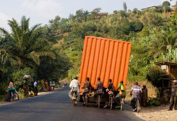 Burundi, the highway from Bujumbura to Gitega