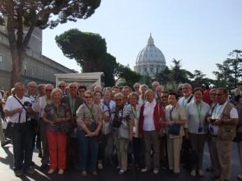 Les colombaniens et colombaniennes de Luxeuil à Rome