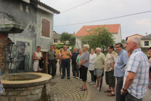 Visite de Budange - 08-08-13