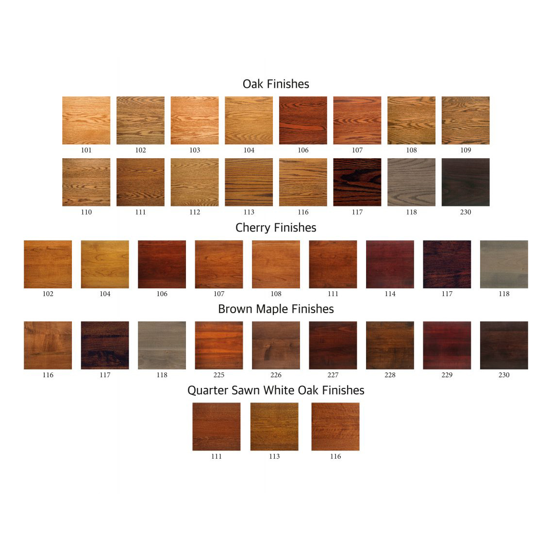 Amish Crafted Furniture Stains And Poly Colors Amish