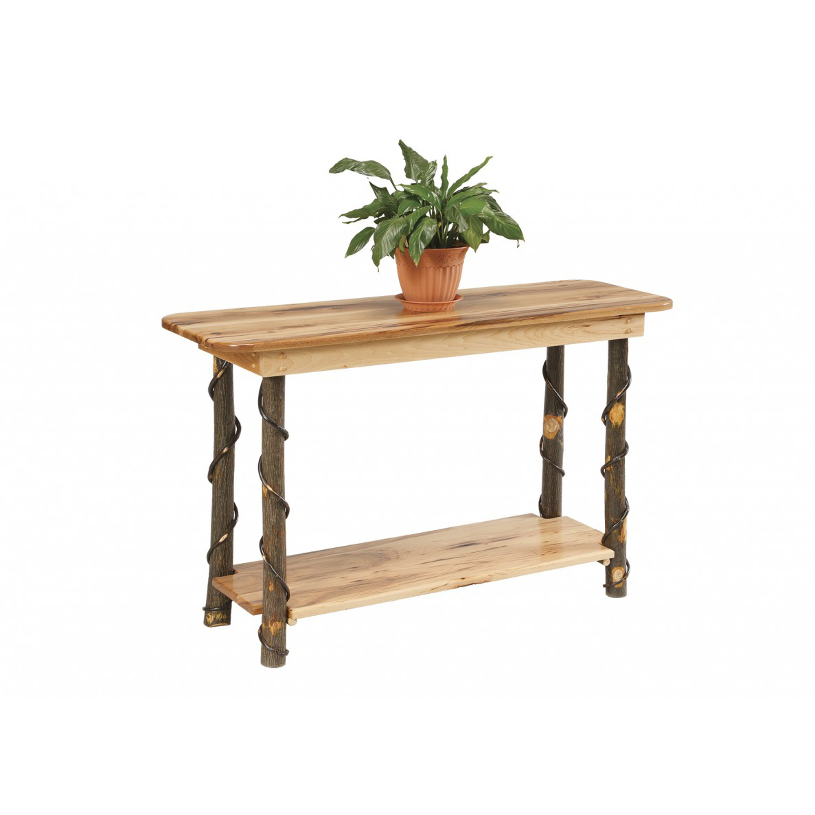 Rustic Sofa Table Amish Crafted Furniture