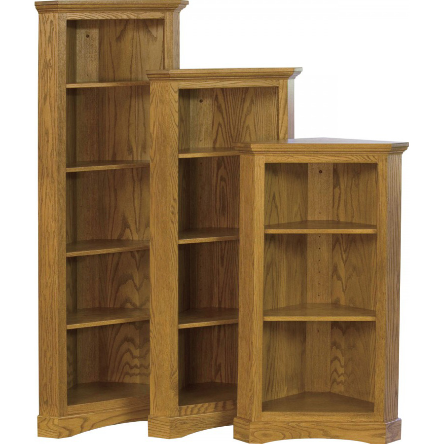 Chimney Corner Bookcase Amish Crafted Furniture