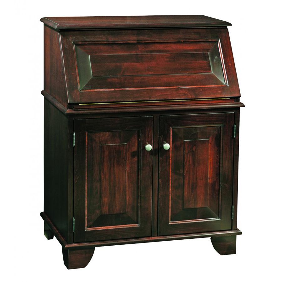 Graham Mini Secretary Desk Amish Crafted Furniture