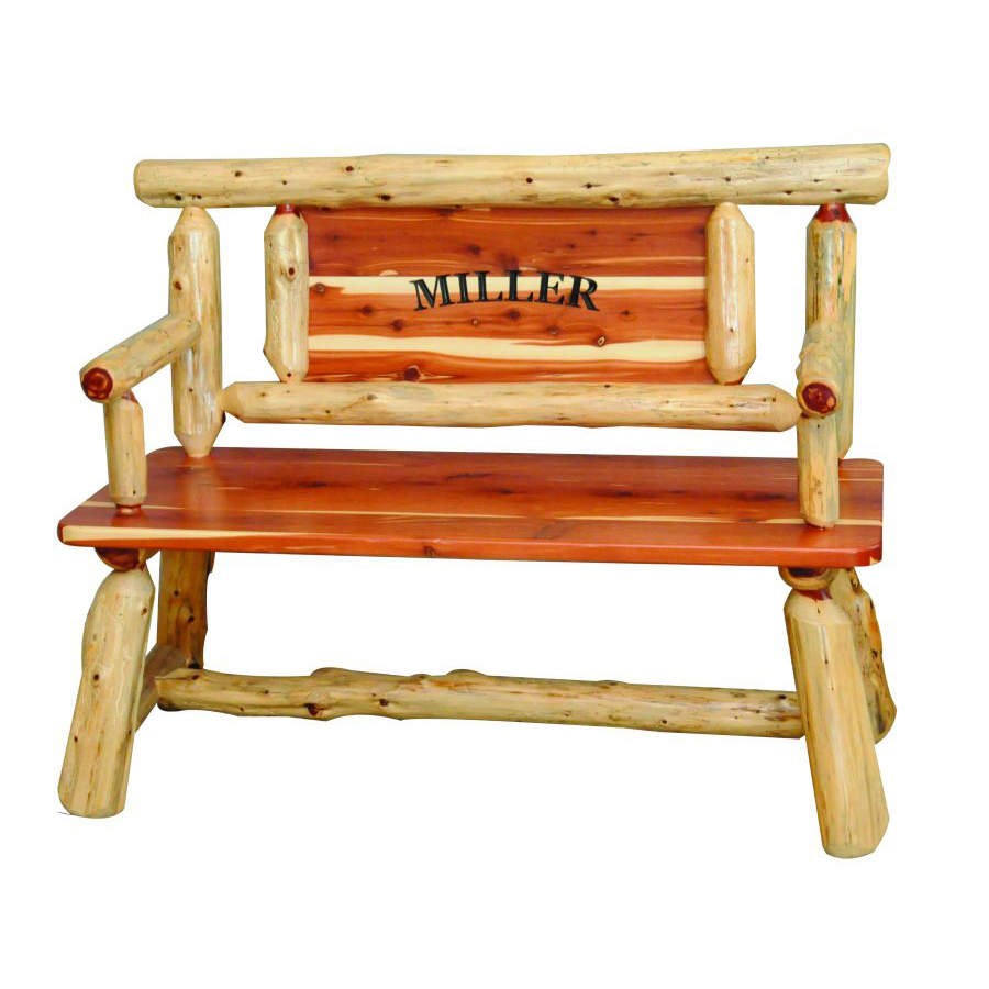 North Wood Collection Hall Bench Amish Crafted Furniture