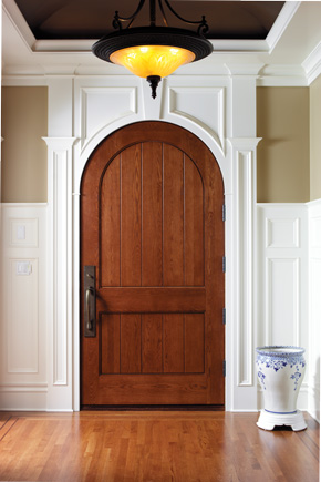 CUSTOM ARCHED INTERIOR DOORS And CUSTOM ROUND TOP INTERIOR