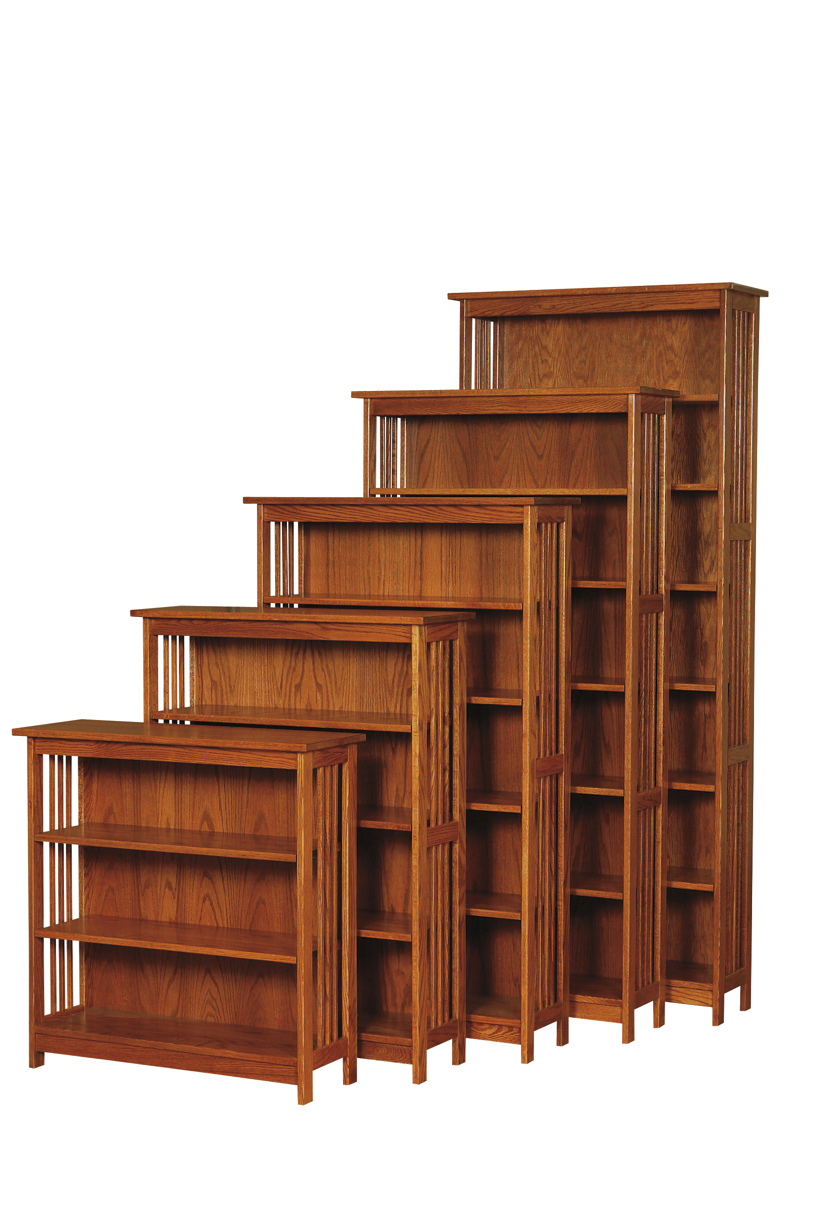 30W Country Mission Bookcase Amish Furniture Connections Amish Furniture Connections
